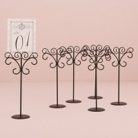 Matte Black Tall Wire Stationary Holders | Sign Holders ...