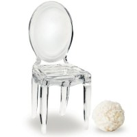 Miniature Clear Acrylic Phantom Chairs