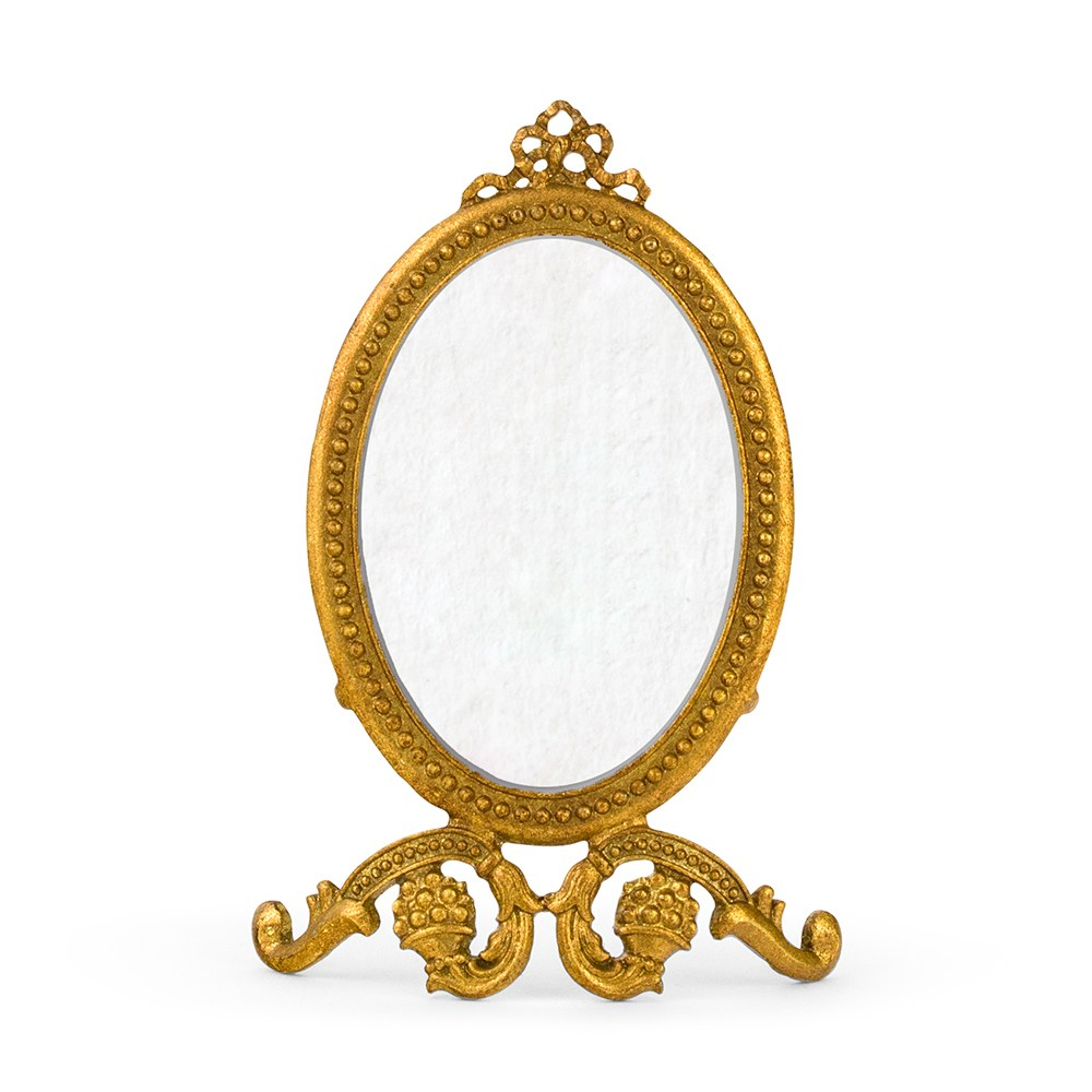 small oval baroque frame