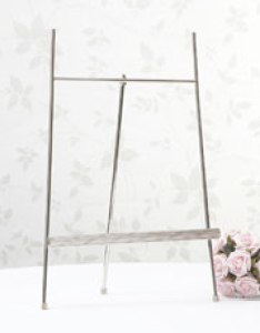 Silver table planner stand also wedding planners  accessories confetti rh