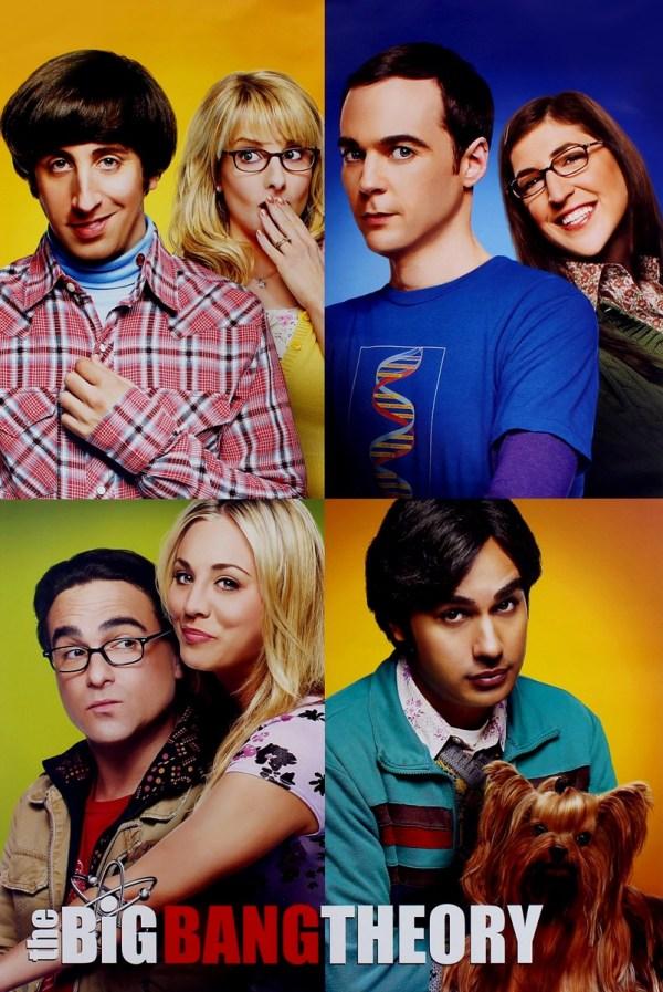 Big Bang Theory Blocks Maxi Poster - Online