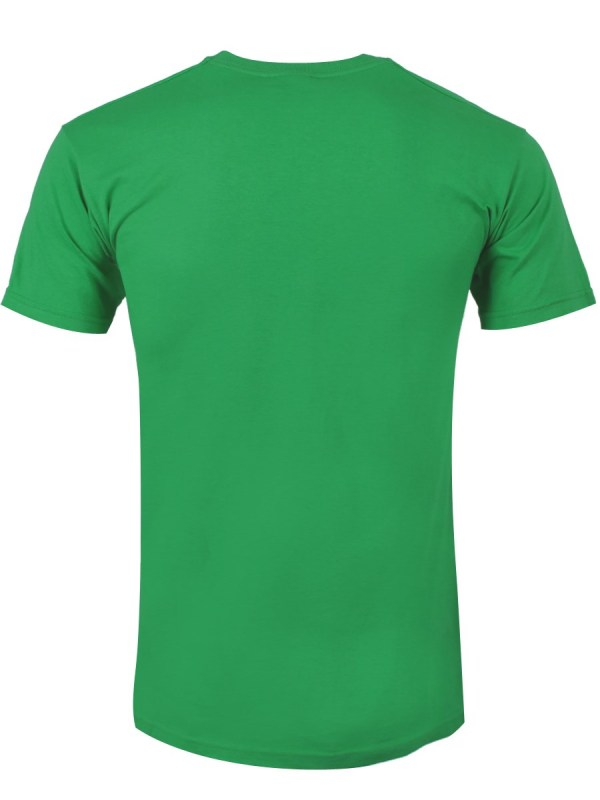 Adventure Time Buds Kelly Green Men' T-shirt