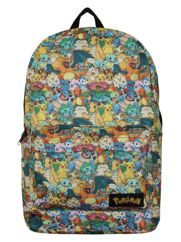 Pokmon Characters Over Print Backpack - Online