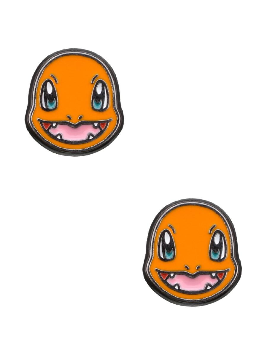 Pokemon Charmander Head Stud Earrings