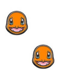 Pokemon Charmander Head Stud Earrings