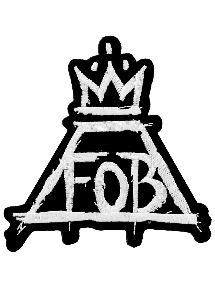 Mcr Panic At The Disco Fall Out Boy Wallpaper Fall Out Boy Crown Patch Buy Online At Grindstore Com