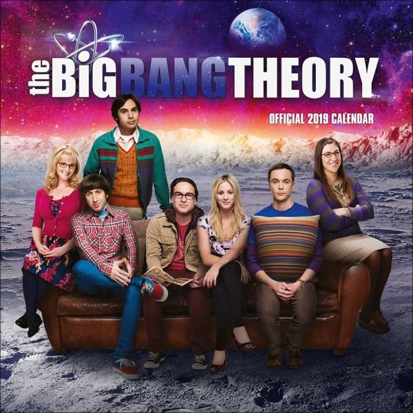 Big Bang Theory 2019 Official Square Wall Calendar - Online