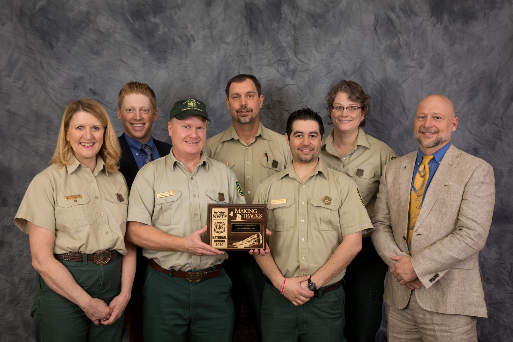 Thursday, february 18, 2010 10:12:03 pm(utc) rank: Nwtf And Forest Service Awards Recognize Conservation Achievements