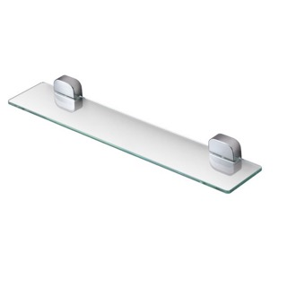 chrome bathroom shelves - thebathoutlet