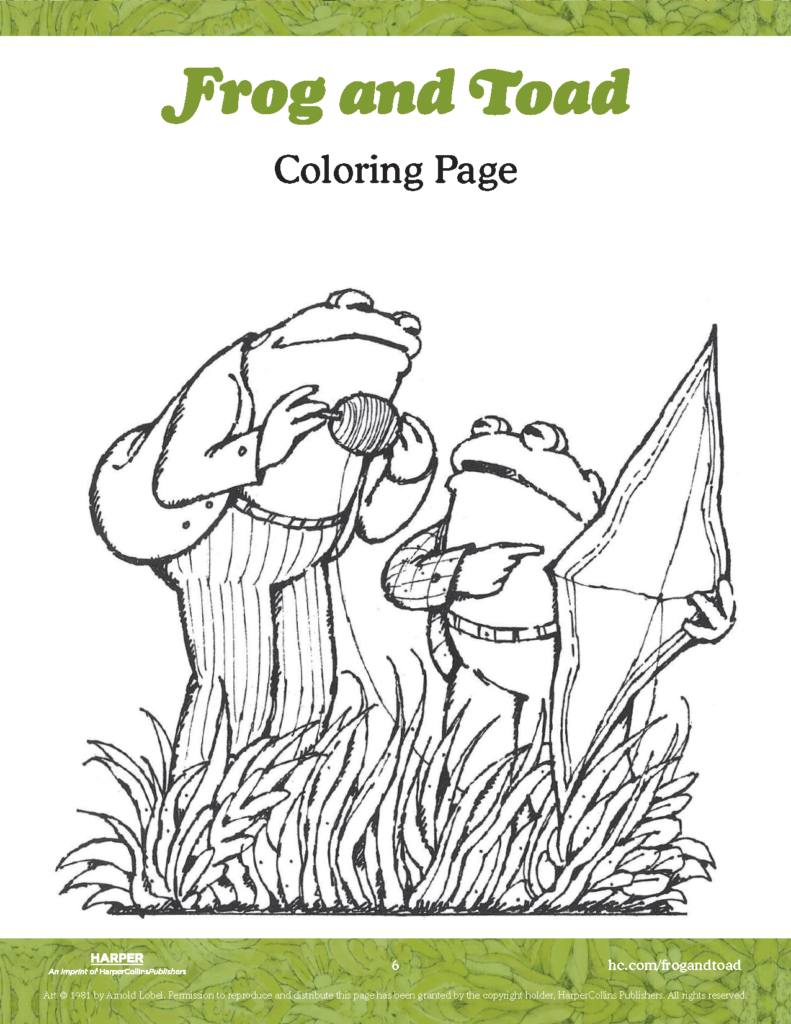 Write Letters With Frog And Toad Harpercollins