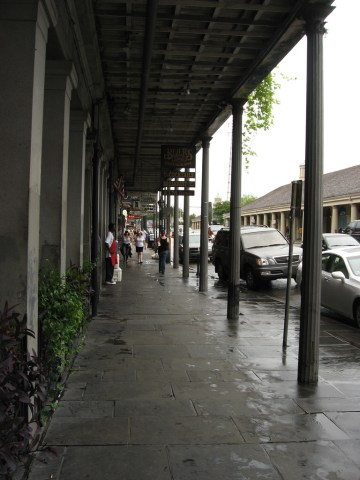 """Design Inspiration: Decatur Street in French Quarters (Photo Credit: Decatur Street Between St. Ann and Dumaine Street, French Quarter, New Orleans, Louisiana"""" by Ken Lund is licensed under CC BY 2.0). https://www.flickr.com/photos/kenlund/3936612686/in/dateposted/ https://creativecommons.org/licenses/by/2.0/legalcode"""