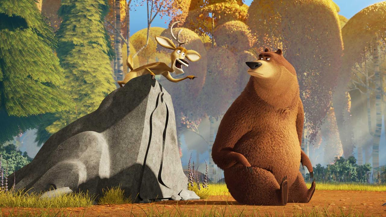 Fall Woodland Creatures Wallpaper Open Season Scared Silly Debuts On Blu Ray March 8