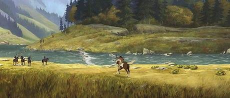 paint spirit stallion of the cimarron # 20