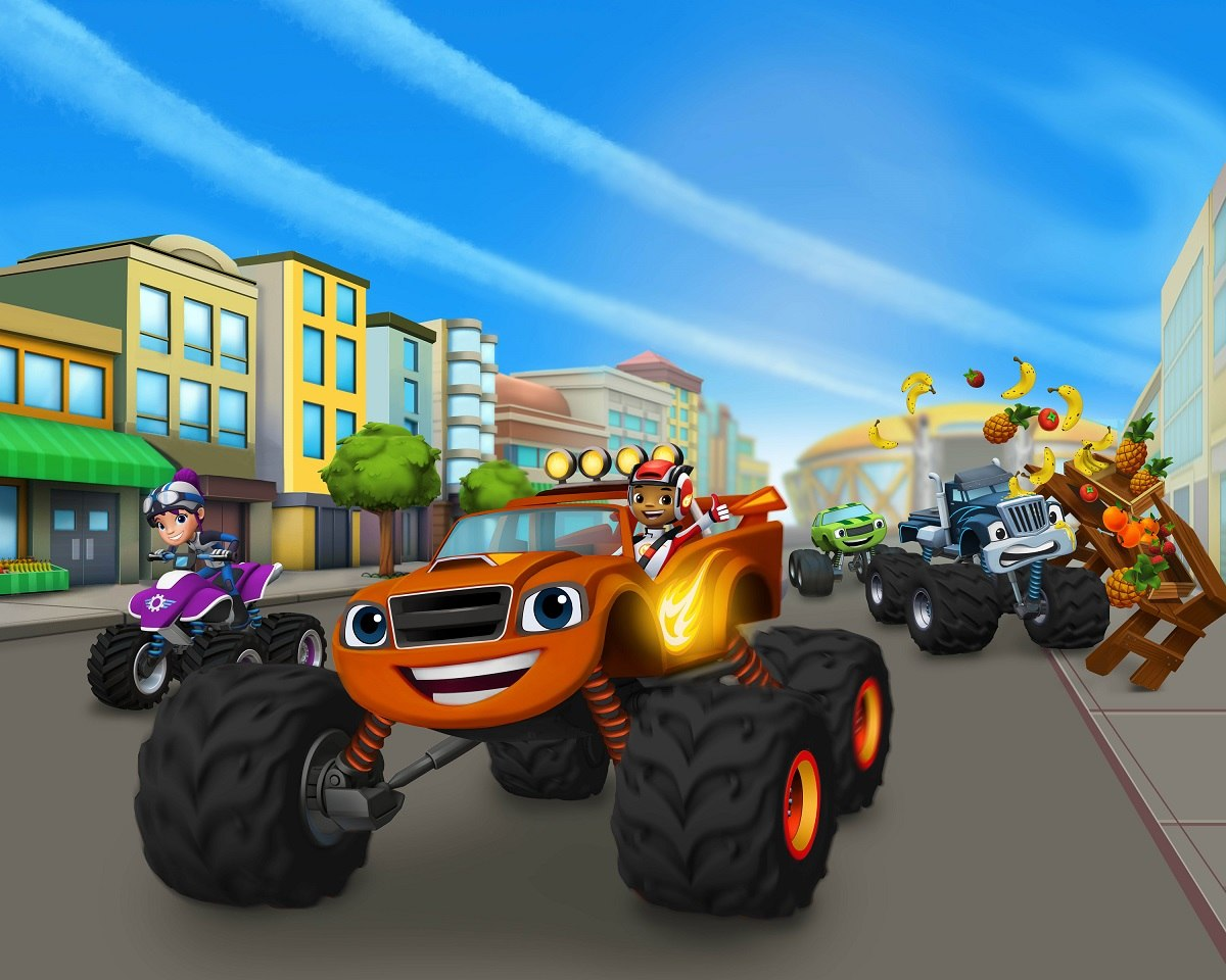 Nickelodeon Launches Blaze And Monster Machines