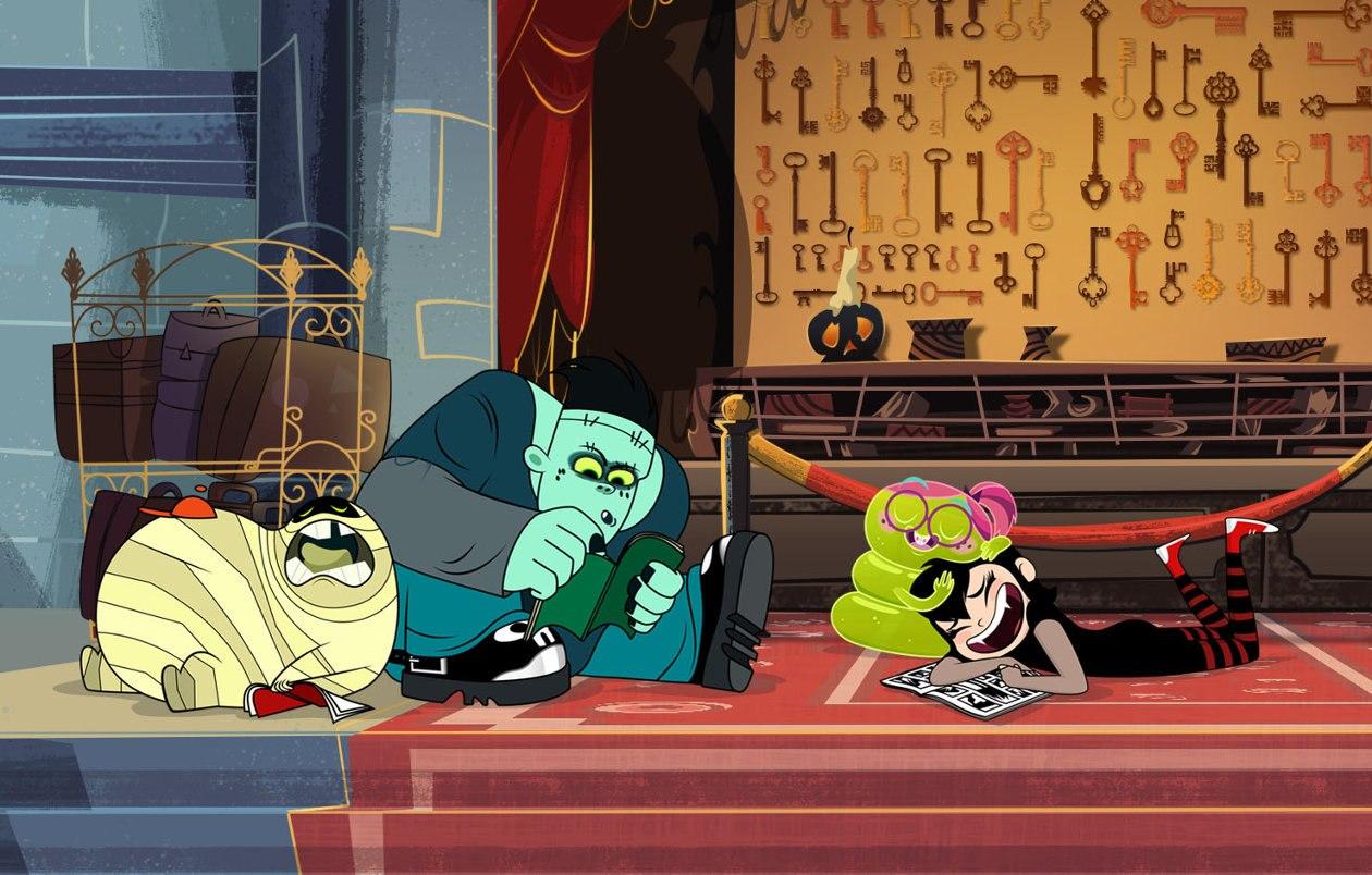 Hotel Transylvania Characters Series