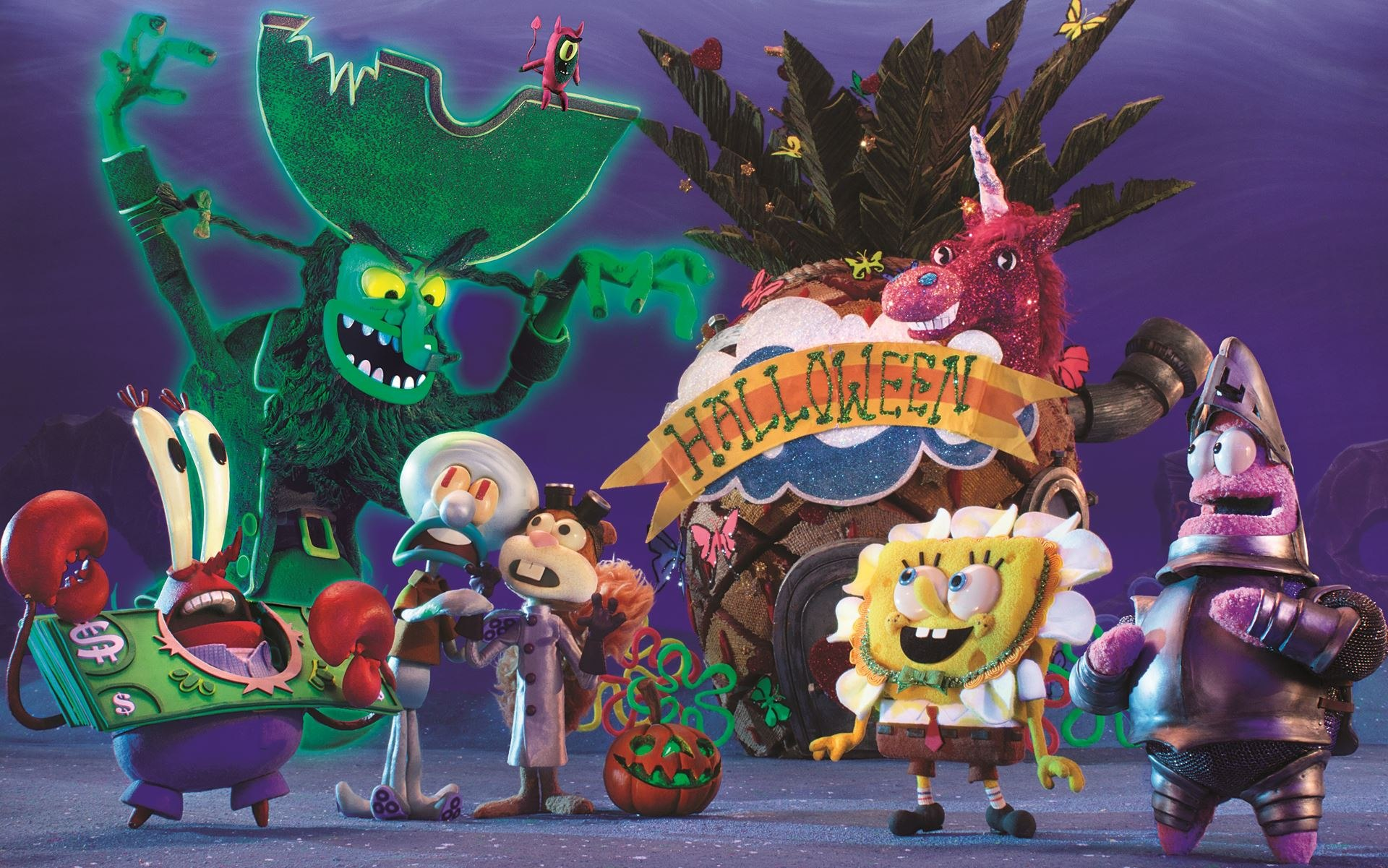 screen novelties delivers spooky