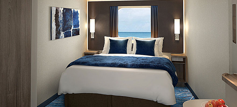 sofa bed queen size indoor wicker and loveseat norwegian bliss - cruise ship photos, schedule ...