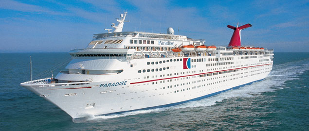 Image result for carnival paradise ship