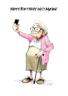 Funny Birthday Cards For Grandma : funny, birthday, cards, grandma, Funny, Happy, Birthday, Grandma, Moonpig