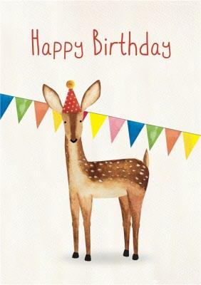 Happy Birthday Images With Deer : happy, birthday, images, Happy, Birthday, Moonpig