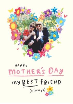 Happy Mothers Day Bestie Images : happy, mothers, bestie, images, Mothers, Friend, Photo, Upload, Moonpig