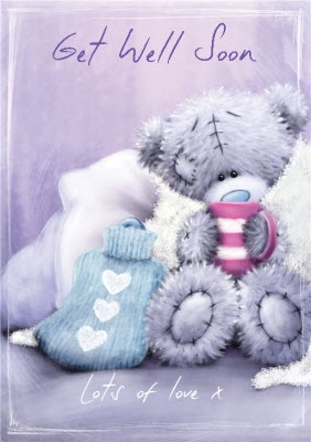 Tatty Teddy Get Well Soon Card Moonpig