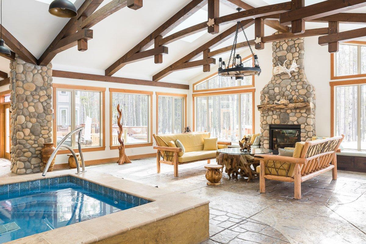 Custom Poolhouse   Alair Homes Calgary