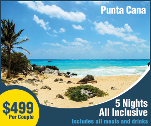 Punta Cana all-inclusive vacation