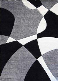 Modern Area Rug # H 284 Gray (8 Feet X 10 Feet 6 Inch ...