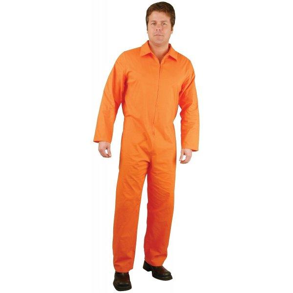 Perfect Orange Prison Jumpsuit Women