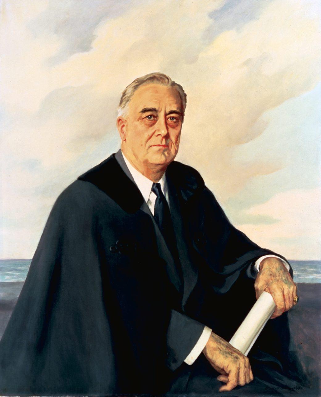 Unfinished Portrait Of Franklin D Roosevelt : unfinished, portrait, franklin, roosevelt, Franklin, Roosevelt, Portrait, White, House, Historical, Association