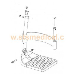 Soporte de reposapiés silla RUMBA modelo inicial