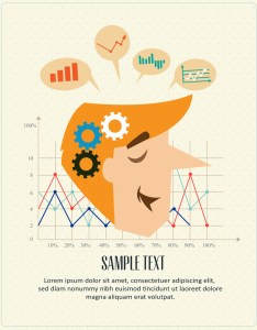 Business man graphs and charts editable text also royalty free stock rh storyblocks