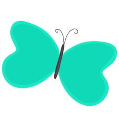 cartoon butterfly clipart [ 1000 x 821 Pixel ]