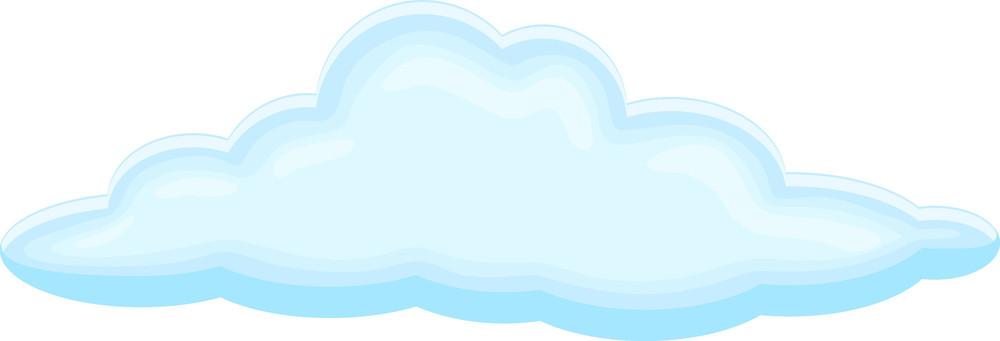 cloud design royalty free