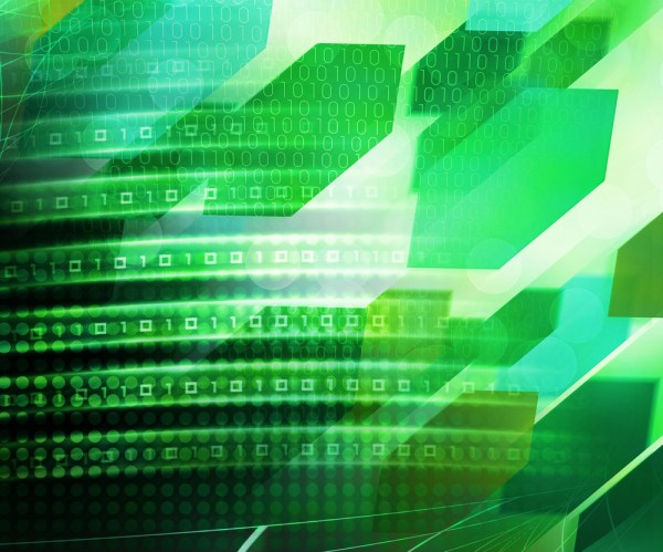 Green Abstract Future Science Background Texture Royalty