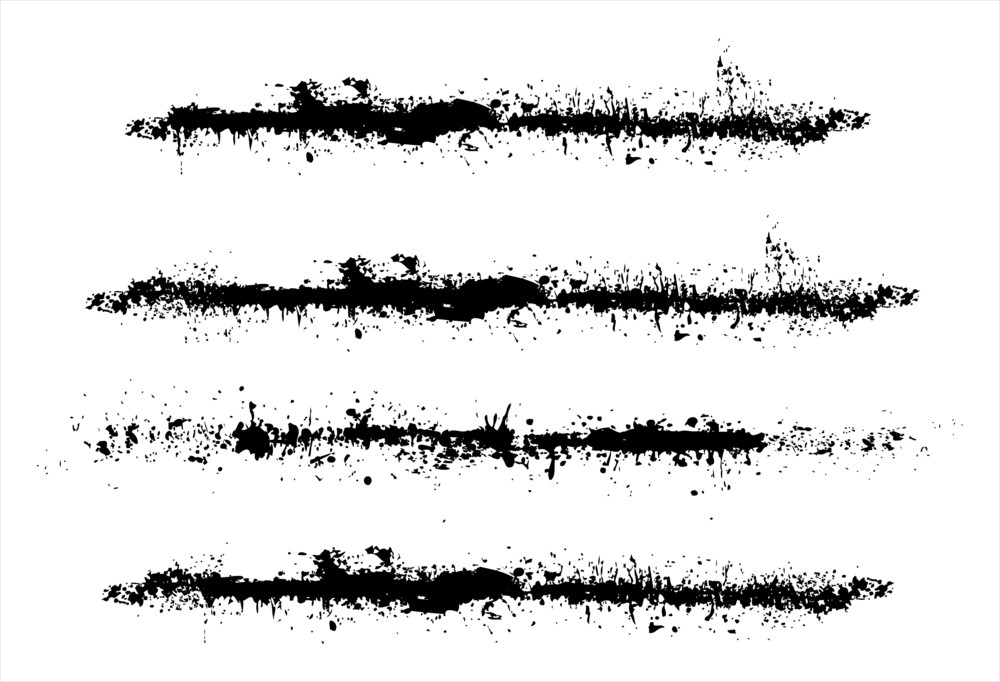 Grunge Brush Strokes Royalty-Free Stock Image