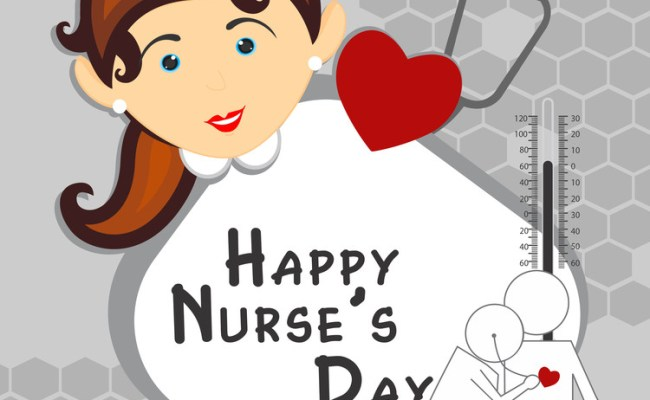 Happy Nurse S Day Background Royalty Free Stock Image
