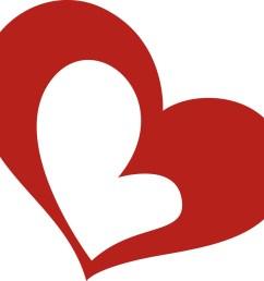 love heart clipart [ 1000 x 919 Pixel ]