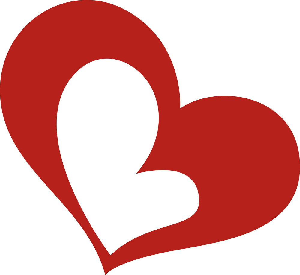 hight resolution of love heart clipart