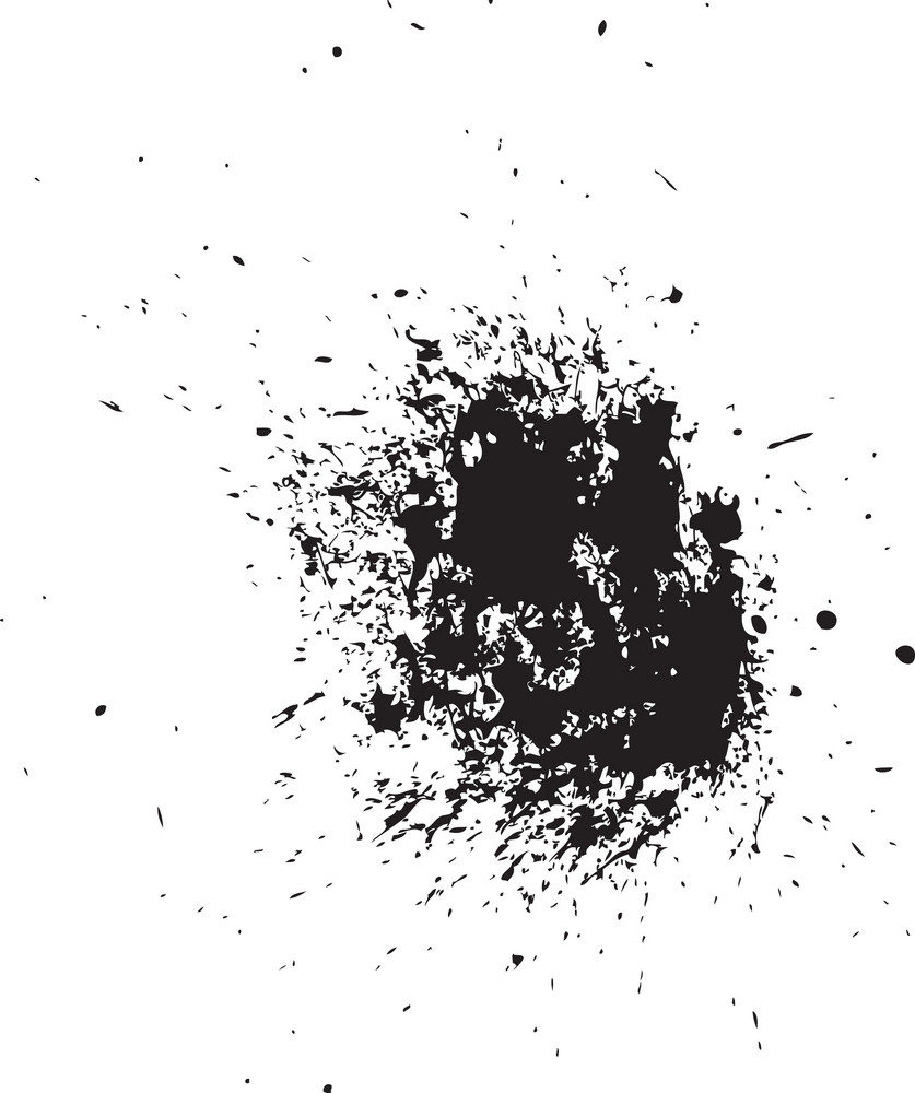 Spray Paint Vector Element Royalty-Free Stock Image