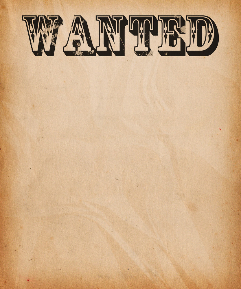 Poster Page Wanted Background Web