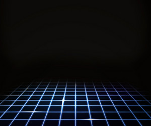 Number 7 Wallpaper Hd Red Virtual Laser Floor Background Royalty Free Stock