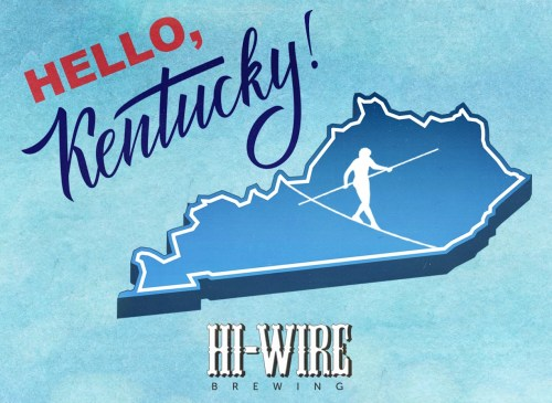 small resolution of asheville n c hi wire brewing will be launching distribution in the entire state of kentucky beginning saturday february 17 with roll out events