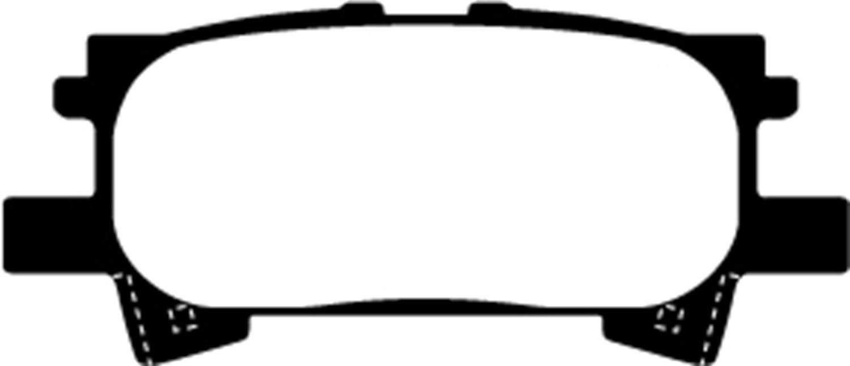 EBC Brakes DP61682 6000 Series Greenstuff Truck and SUV