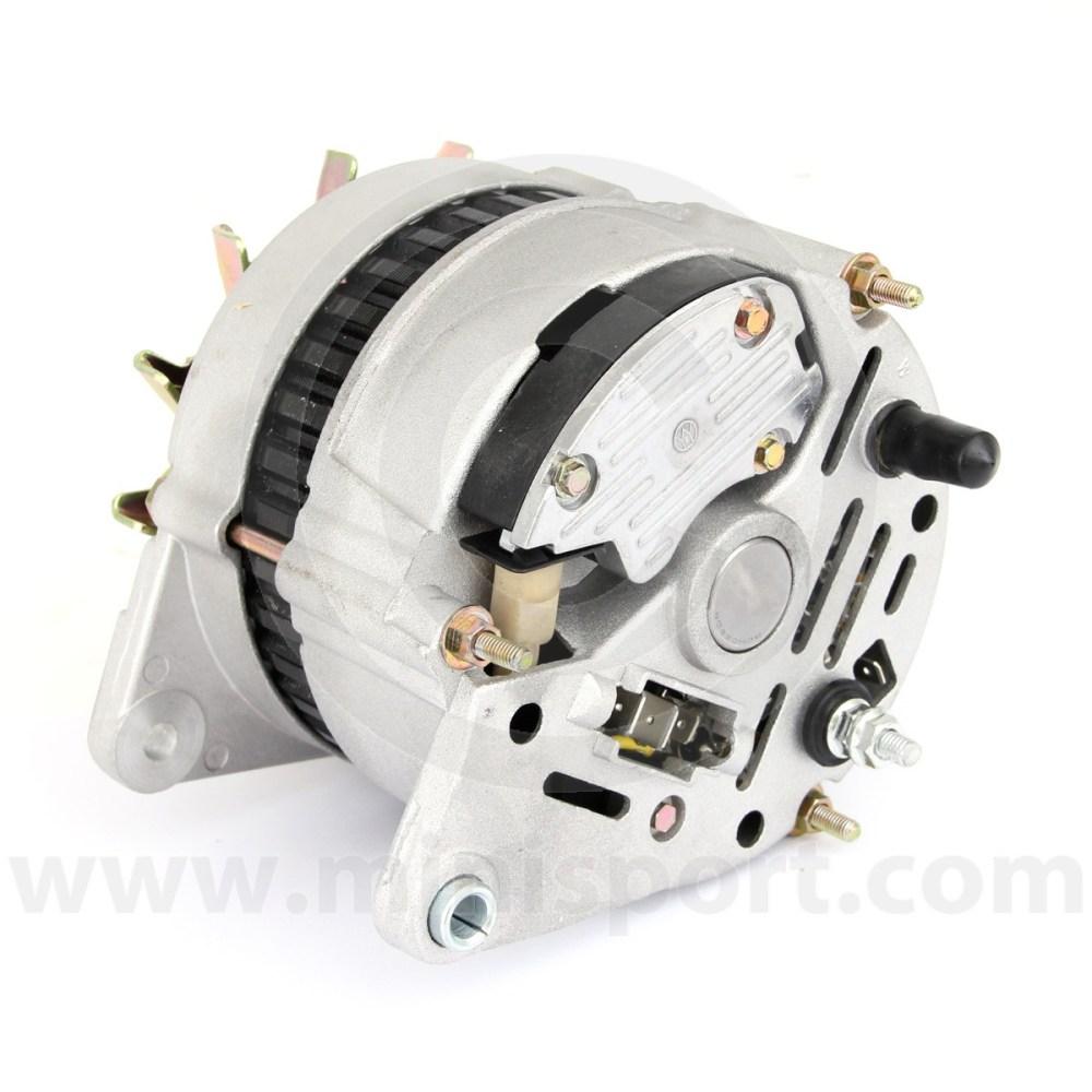 medium resolution of  gxe2276 mini alternator 70 amp high output rear connectors