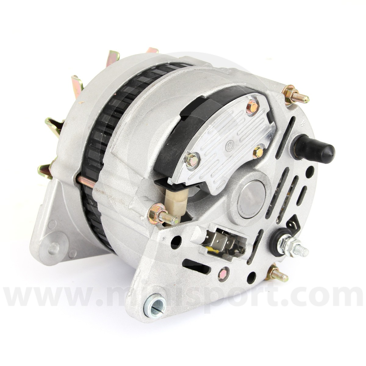 hight resolution of  gxe2276 mini alternator 70 amp high output rear connectors