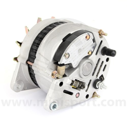 small resolution of  gxe2276 mini alternator 70 amp high output rear connectors