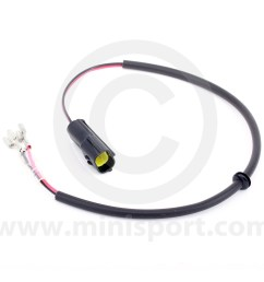 lucharness mini cooper lamp wiring mini lamps minisport com mini cooper drive or fog lamp harness [ 1200 x 1200 Pixel ]
