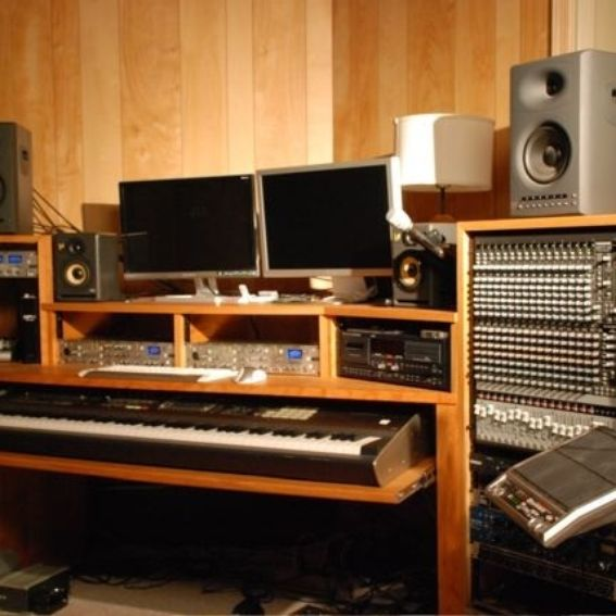Hand Crafted Recording Studio Console Desk by Mountain